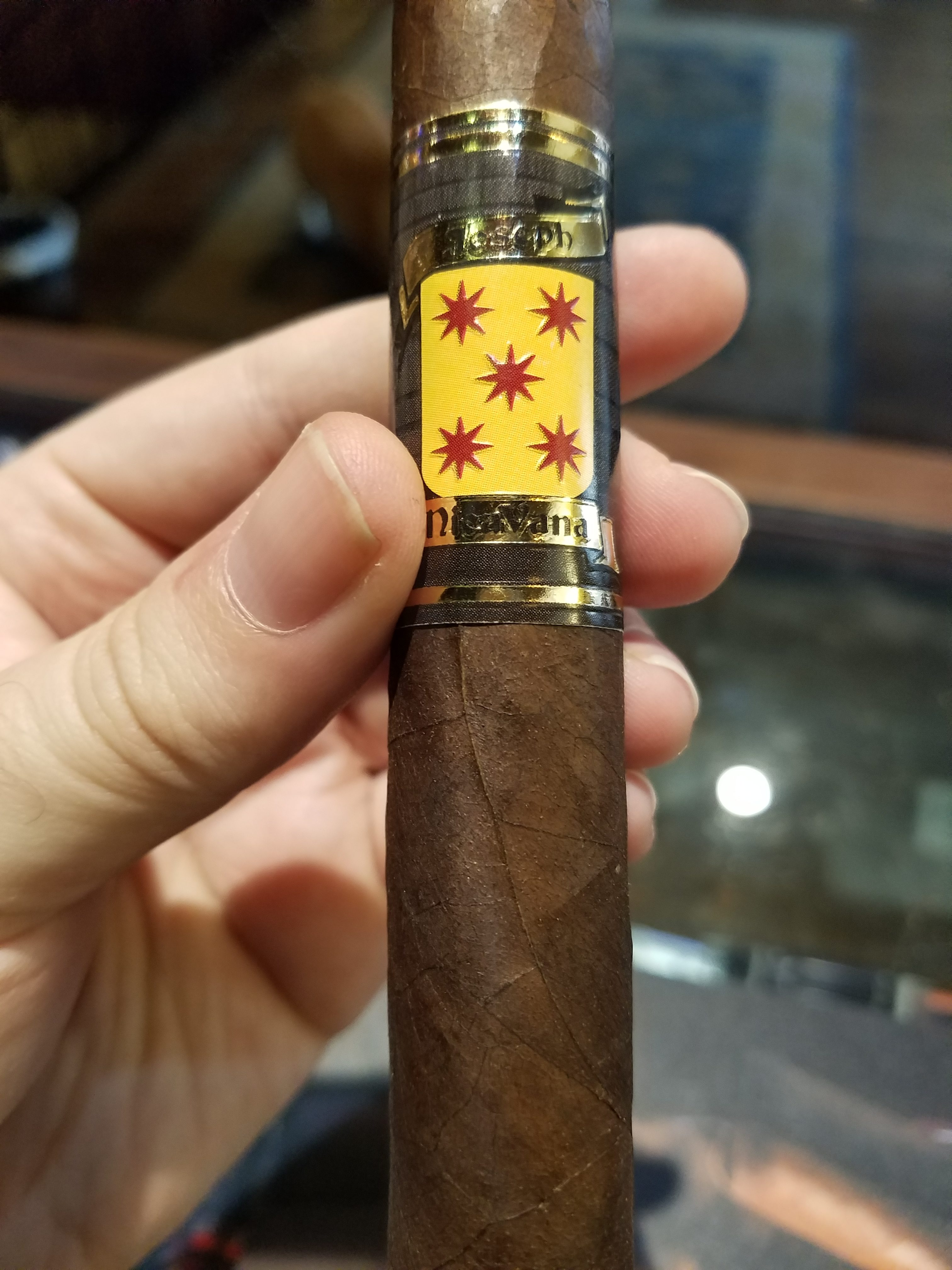 608d55876df2 Mike's Farwell and review of favorite Cigar Joseph Nicavana Mezmerize